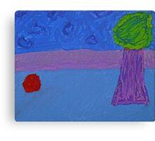 Cerulean Wonderland Canvas Print