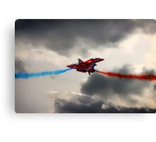 Synchro Cross Over Canvas Print