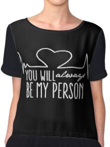 Grey's Anatomy - My Person  Women's Chiffon Top