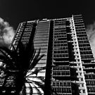 Tower Block in Black and White by Stephen Frost