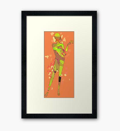 Fashion Mannequin Framed Print