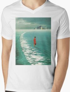 Waiting For The Cities To Fade Out Mens V-Neck T-Shirt