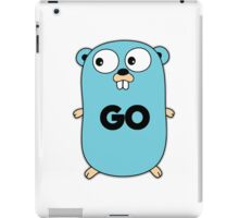 google go programming language iPad Case/Skin