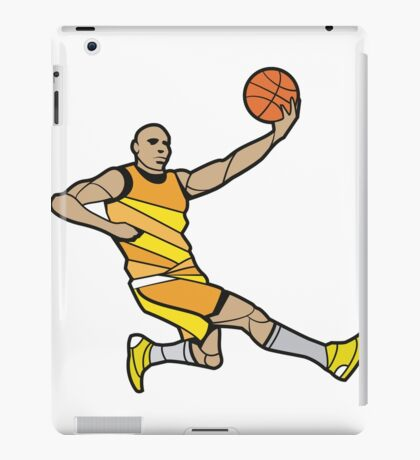 Basketball Player Illustration iPad Case/Skin