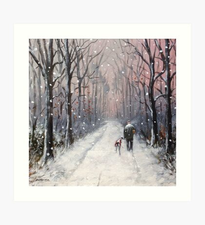 We'll be having ourselves a Merry little Christmas.. Art Print