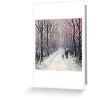 We'll be having ourselves a Merry little Christmas.. Greeting Card