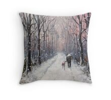 We'll be having ourselves a Merry little Christmas.. Throw Pillow