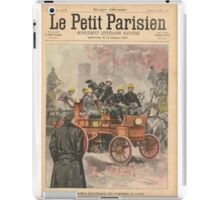 Electric Fire Engine Paris France 1900 iPad Case/Skin
