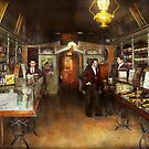Apothecary - Spell books and Potions 1913 by Mike  Savad