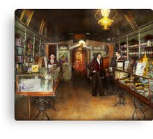 Apothecary - Spell books and Potions 1913 Canvas Print