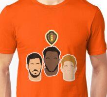 Belgium - Hazard, Lukaku, De Bruyne - Euro 2016 Unisex T-Shirt