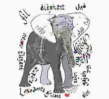 African Elephant, Loxodonta africana  Unisex T-Shirt