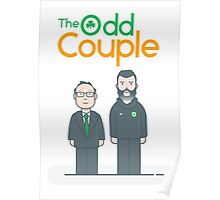 The Real Odd Couple Poster