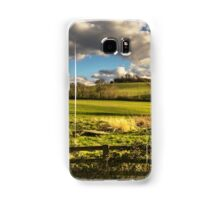 Round Hill From Little Wittenham Samsung Galaxy Case/Skin