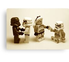 Lego Star Wars Stormtroopers Diversity Minifigure Canvas Print