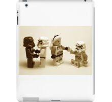 Lego Star Wars Stormtroopers Diversity Minifigure iPad Case/Skin