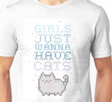 girls just wanna have cats Unisex T-Shirt