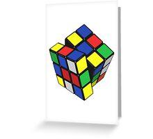 The Rubix Greeting Card