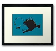 Deep Sea Exploration Framed Print