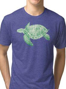 Sea Turtle Tri-blend T-Shirt