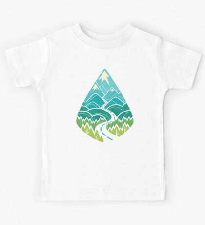 The Road Goes Ever On: Summer Kids Tee
