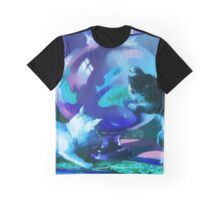 Kittens with Goldfishes Graphic T-Shirt