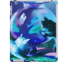 Kittens with Goldfishes iPad Case/Skin