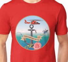 Coast Guard Wife For Life Unisex T-Shirt