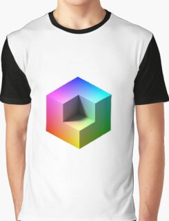 Hue Cube Graphic T-Shirt