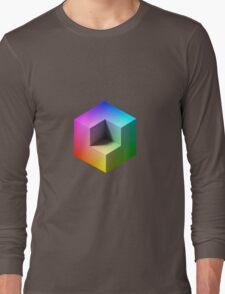 Hue Cube Long Sleeve T-Shirt
