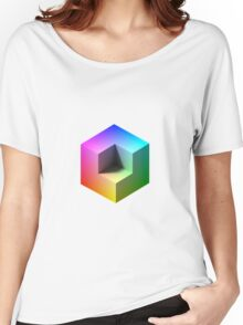 Hue Cube Women's Relaxed Fit T-Shirt