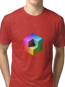 Hue Cube Tri-blend T-Shirt