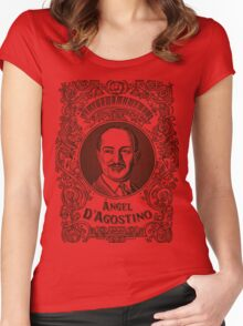 Ángel D'Agostino (in black) Women's Fitted Scoop T-Shirt