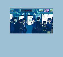 Rush Hour on the Tokyo Metro Unisex T-Shirt