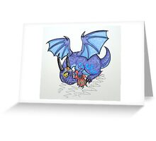 Cutie Critter: Nexus Whelpling Greeting Card