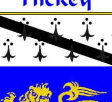 Hickey Coat of Arms/Family Crest Sticker