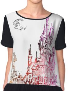 Castle with color Chiffon Top