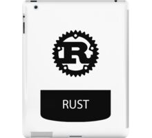 rust programming language sticker plus iPad Case/Skin