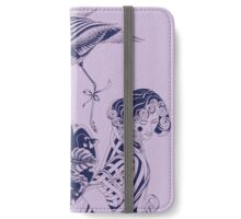 Lily and the Flamingo iPhone Wallet/Case/Skin