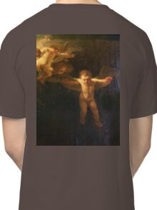 Angel, Naked, Angelic, Cherub, with wings, Church, St Petersburg Russia.  Classic T-Shirt