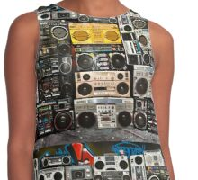 Wall Of Boomboxes Contrast Tank