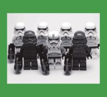 Lego Star Wars Stormtroopers Group Picture Minifigure Kids Tee