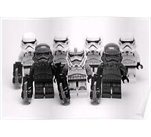 Lego Star Wars Stormtroopers Group Picture Minifigure Poster