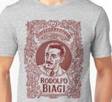 Rodolfo Biagi (in red) Unisex T-Shirt