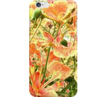 Abstract Summer Floral iPhone Case/Skin