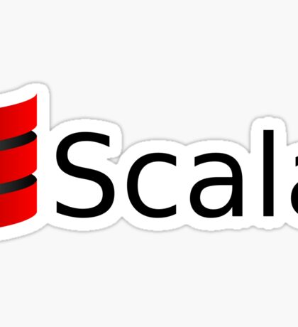 scala programming language Sticker