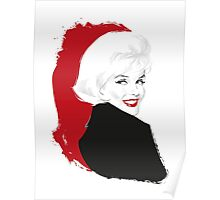 Marilyn Blonde Test Poster