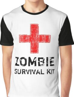 Zombie Survival Kit Graphic T-Shirt
