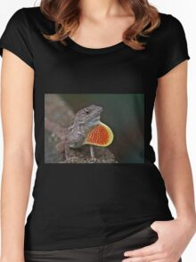 Good Luck Gecko Women's Fitted Scoop T-Shirt