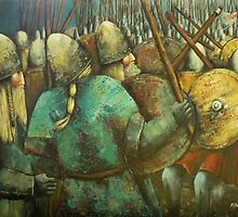 A Viking Skirmish by Kaye Miller-Dewing